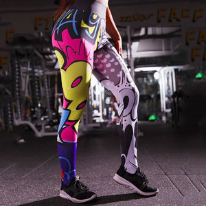 Color Digital Fun Leggings Leggings Loom Rack