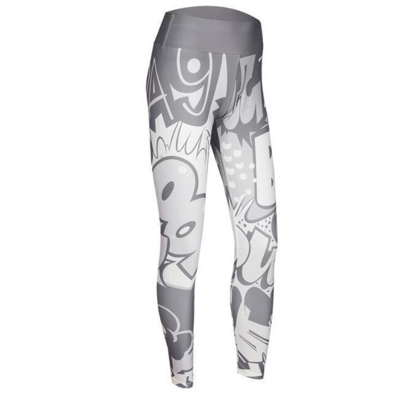Color Digital Fun Leggings Leggings Loom Rack Light Gray S
