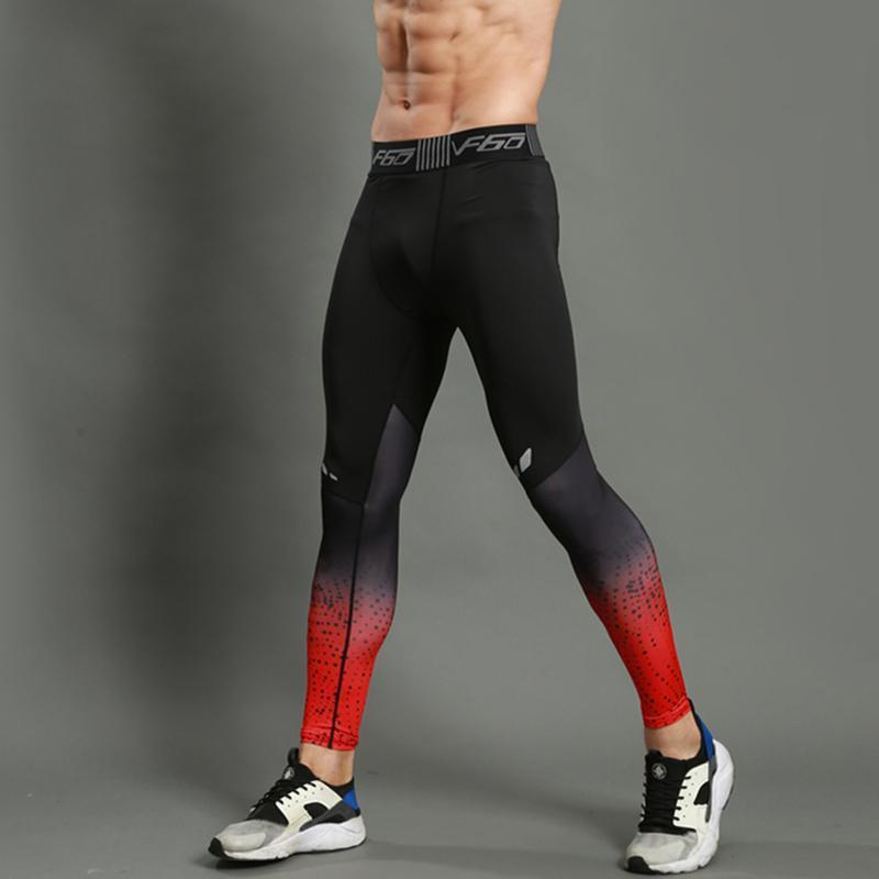 Concrete Men's Compression Running Leggings Leggings Loom Rack