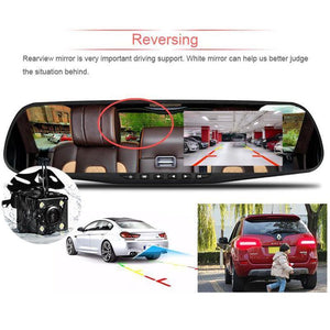 Dashcam/Rearcam Smart Mirror Car Accessories Loom Rack