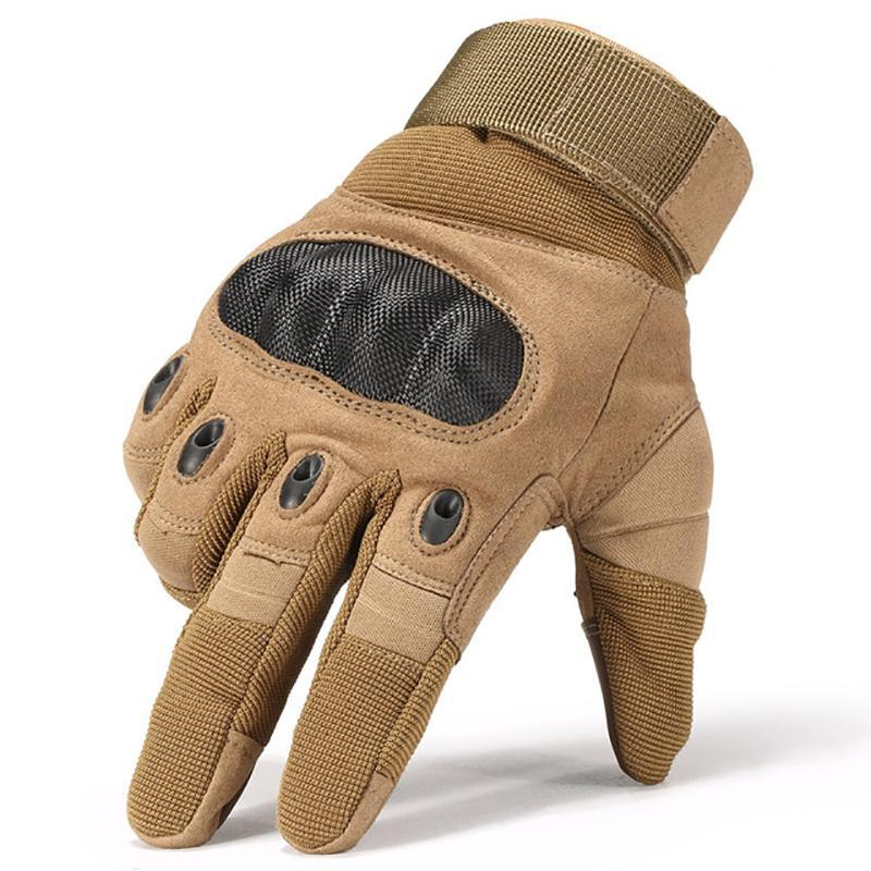 EagleLite Military Grade Tactical Gloves Sports Gloves Brown / M