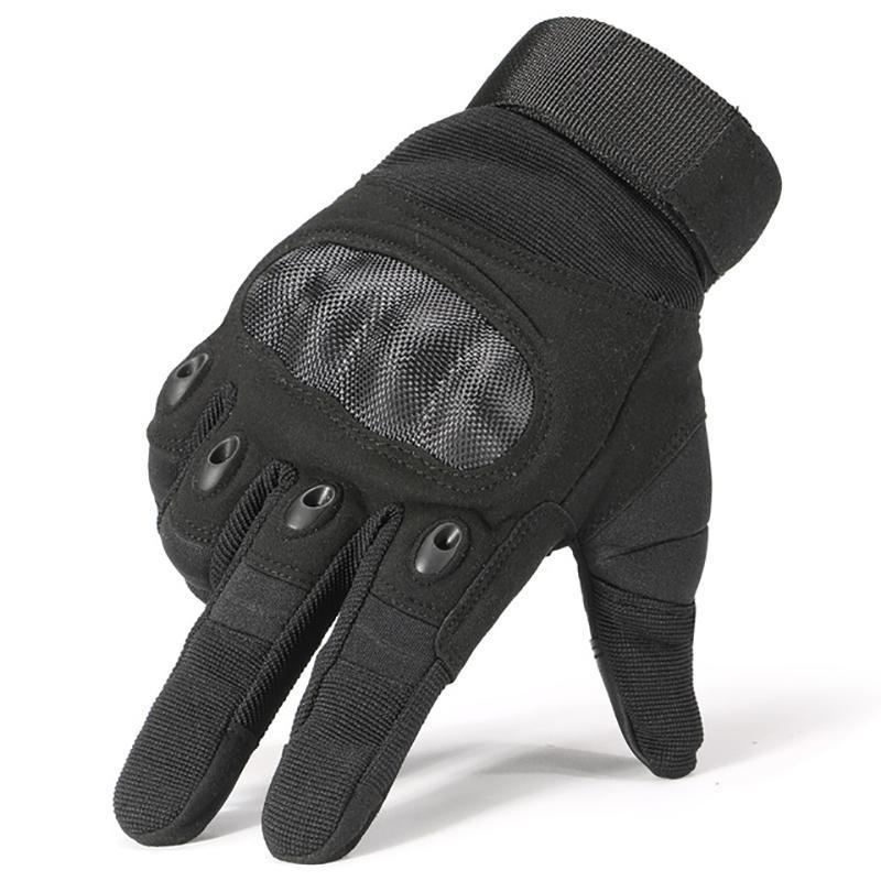 EagleLite Military Grade Tactical Gloves Sports Gloves Loom Rack Black M
