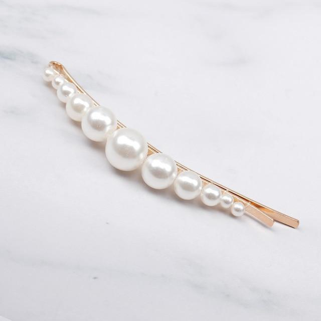 Elegant Pearl Hair Clip Barrettes Hair Accessories 20