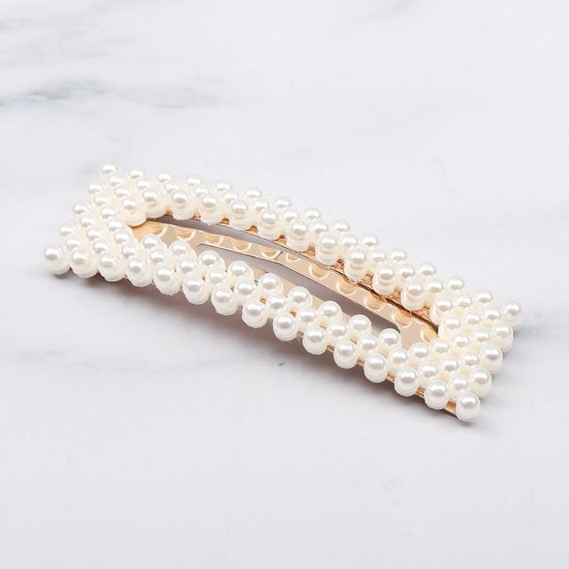 Elegant Pearl Hair Clip Barrettes Hair Accessories 22