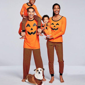 Family Pumpkin Matching Halloween Pajamas Matching Outfits Loom Rack