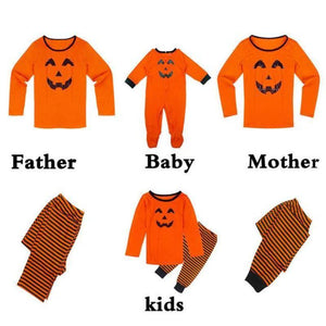 Family Pumpkin Matching Halloween Pajamas Matching Outfits Loom Rack Dad S
