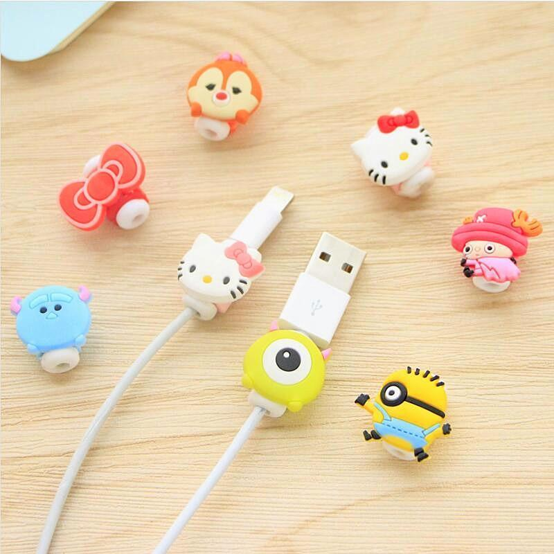 Fancy Cable Charger Protector Mobile Phone Accessories Loom Rack