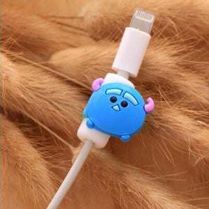 Fancy Cable Charger Protector Mobile Phone Accessories Loom Rack Blue Ox