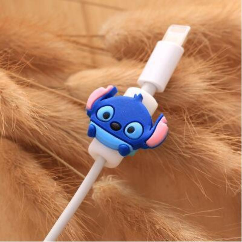 Fancy Cable Charger Protector Mobile Phone Accessories Loom Rack Deep Blue