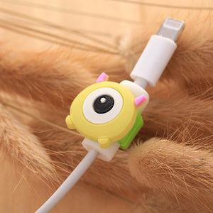 Fancy Cable Charger Protector Mobile Phone Accessories Loom Rack Monster Eye