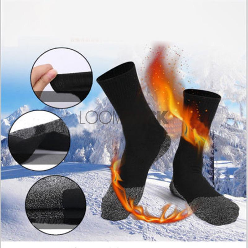 FeetHeat™ Premium Aluminized Thermal Winter Socks Socks Loom Rack