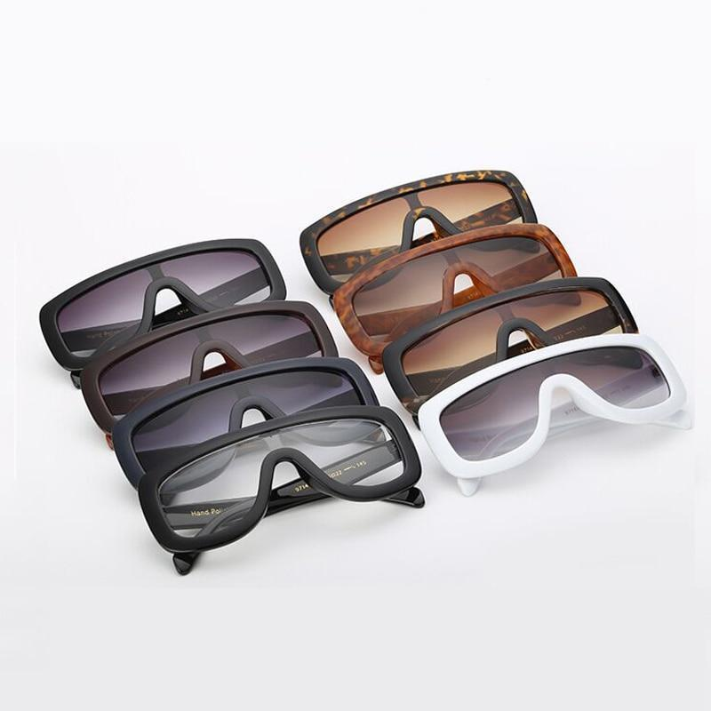 Feminine Shield Oversized Sunglasses Sunglasses Loom Rack