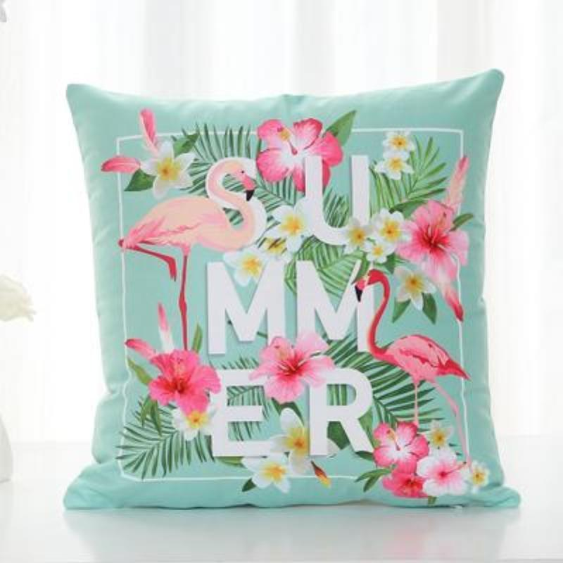 Flamingo Pillow Covers Cushion Cover Loom Rack A