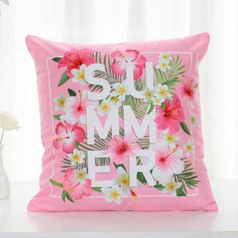 Flamingo Pillow Covers Cushion Cover Loom Rack C