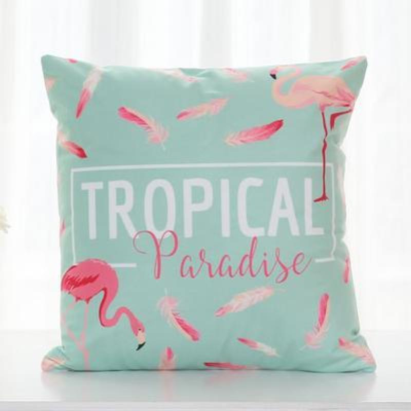 Flamingo Pillow Covers Cushion Cover Loom Rack H
