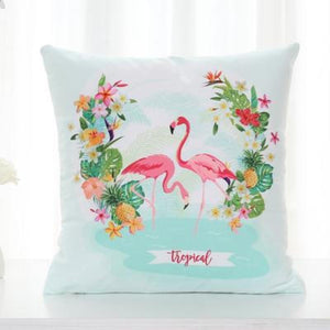 Flamingo Pillow Covers Cushion Cover Loom Rack I