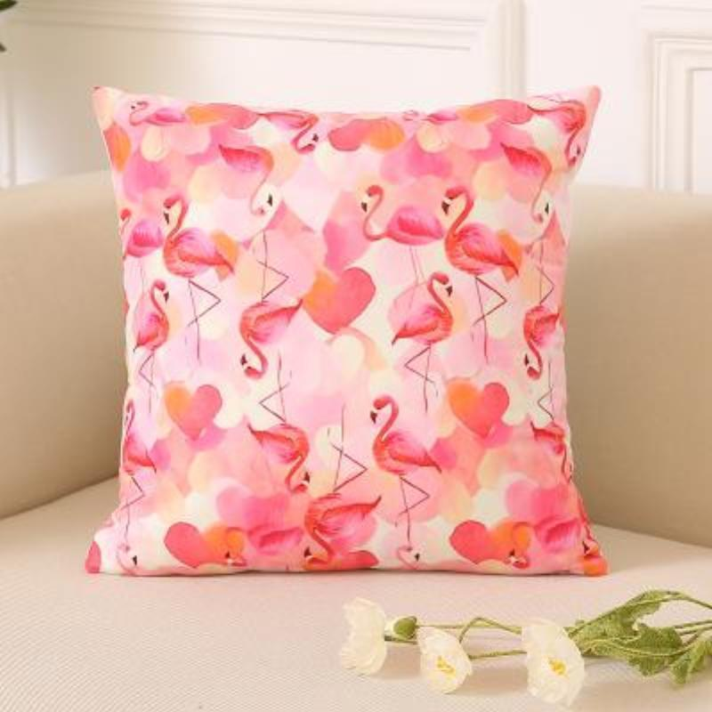 Flamingo Pillow Covers Cushion Cover Loom Rack L