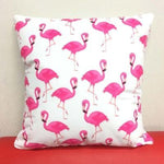 Flamingo Pillow Covers Cushion Cover Loom Rack Q
