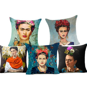 Frida Kahlo Cushion Cover Home Accessories Loom Rack