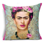 Frida Kahlo Cushion Cover Home Accessories Loom Rack 43X43CM Cushion Cover - 12
