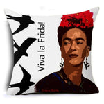 Frida Kahlo Cushion Cover Home Accessories Loom Rack 43X43CM Cushion Cover - 6