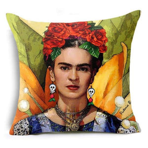 Frida Kahlo Cushion Cover Home Accessories Loom Rack 43X43CM Cushion Cover - 8