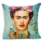 Frida Kahlo Cushion Cover Home Accessories Loom Rack 43X43CM Cushion Cover - 9