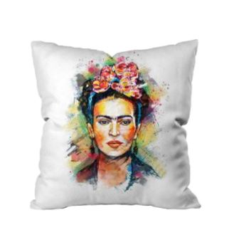 Frida Kahlo Cushion Cover Housewares and Organization Loom Rack C