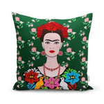 Frida Kahlo Cushion Cover Housewares and Organization Loom Rack D
