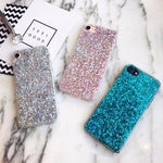 Glitter Crystal Sequins iPhone Cover X/ XR/ XS Max Phone Cases Loom Rack