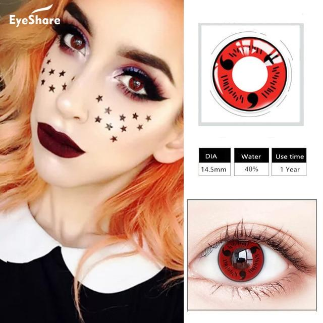 Halloween Contact Lense Health & Beauty Loom Rack Color 3