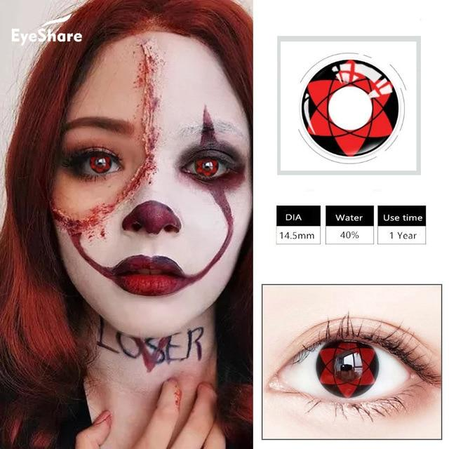 Halloween Contact Lense Health & Beauty Loom Rack Color 6