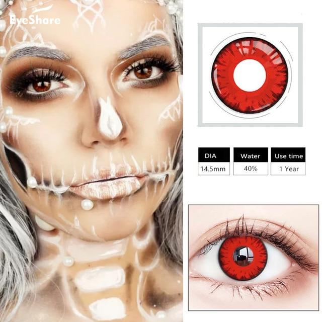 Halloween Contact Lense Health & Beauty Loom Rack Color 9