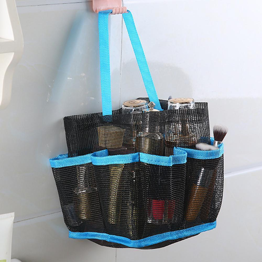 Hanging Mesh Toiletry Caddy Organizer Home Accessories Loom Rack
