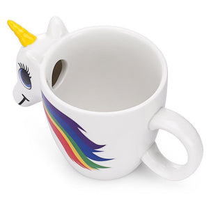 Heat Activated - Color Changing Unicorn Mug Mugs Loom Rack