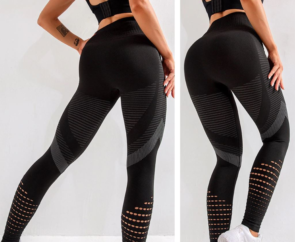 High Waist Seamless Leggings Leggings LoomRack