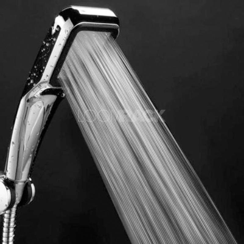 HydroSoak™ Pressurized Water Saving Shower Head Home Accessories Loom Rack