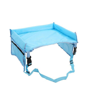 Kids Car Snack & Play Tray Baby Accessories Loom Rack Blue