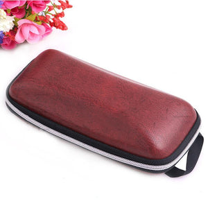 Lanyard Zipper Eyeglass Cases Sunglasses Cases BK