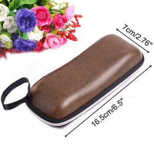 Lanyard Zipper Eyeglass Cases Sunglasses Cases Loom Rack
