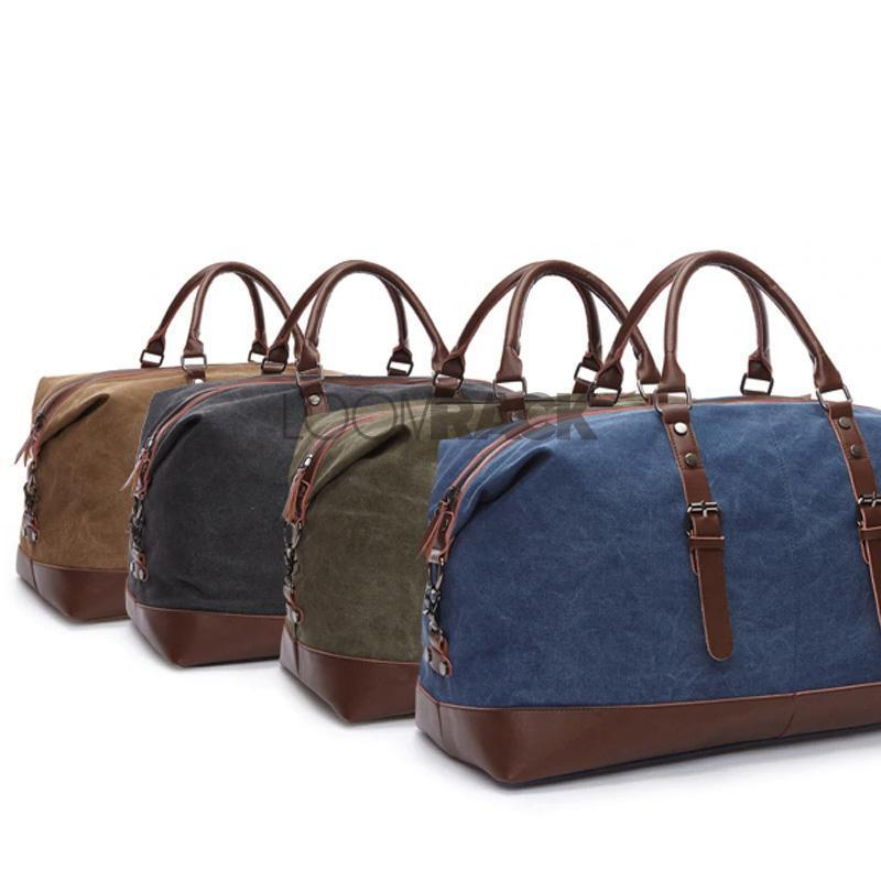 Large Canvas Duffle Bag Travel Accessories Loom Rack