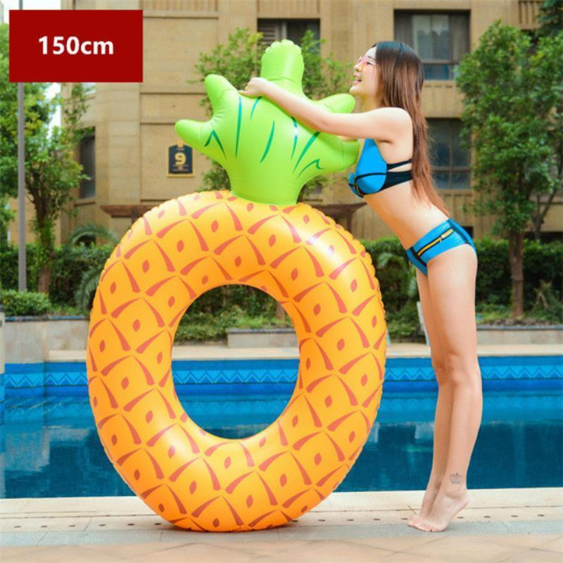 Large Fruit & Plant Floats Swimming Rings Loom Rack Round Pineapple