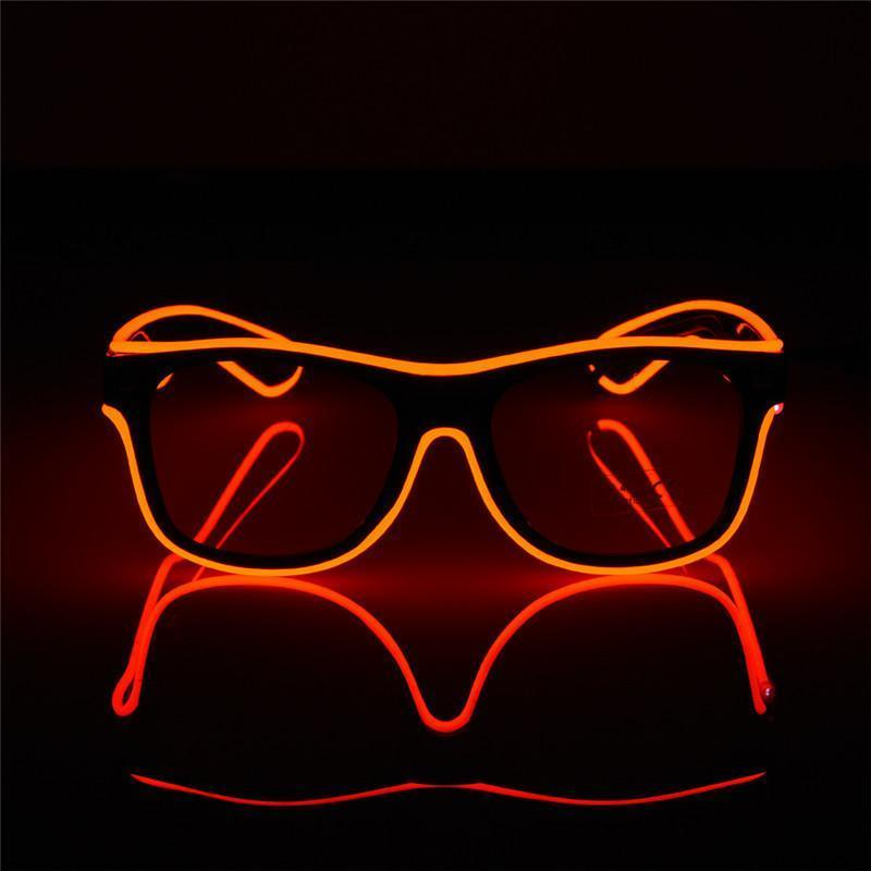 LED Luminous Party Sunglasses Sunglasses Loom Rack