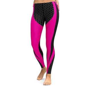Leggings - Geometric Pattern Leggings