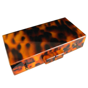 Leopard Print Acrylic Clutch Clutches Loom Rack
