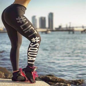 Lift Squat Leggings Leggings Loom Rack Gray S