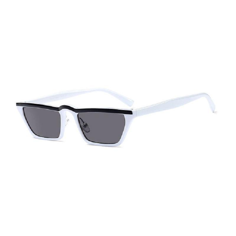 loomrack 80s Punk Vintage Sunglasses Sunglasses White Gray