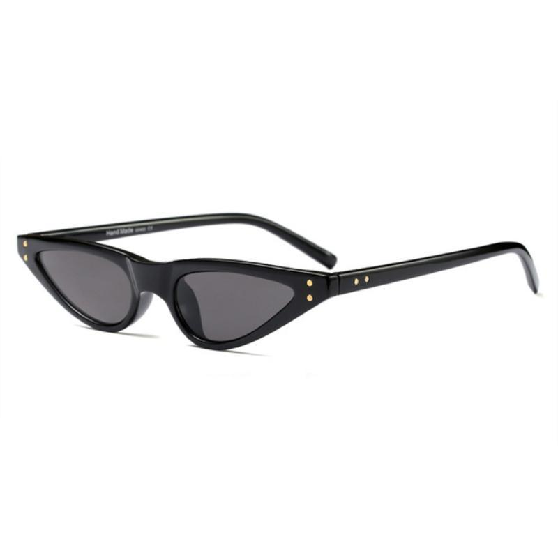 loomrack 90s Small Pointy Sunglasses Sunglasses Black