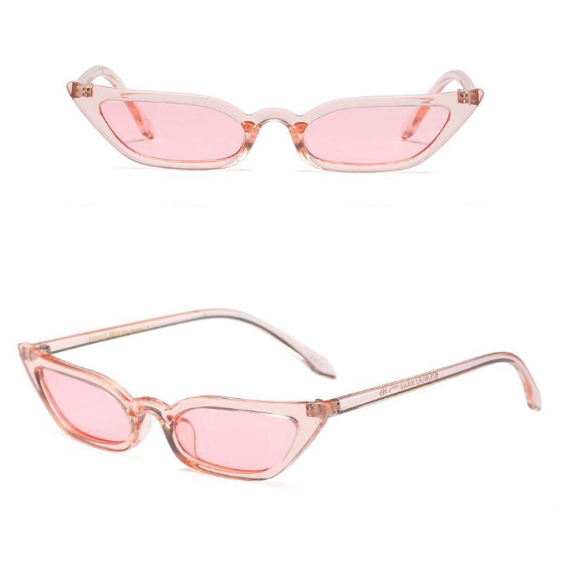 loomrack 90s Small Rectangular Pointy Sunglasses Sunglasses