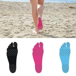loomrack Adhesive Pads - Walk Barefoot Without Damaging Your Feet. Cotton Swabs